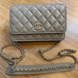 Chanel Classic %100 Authentic Leather Bag